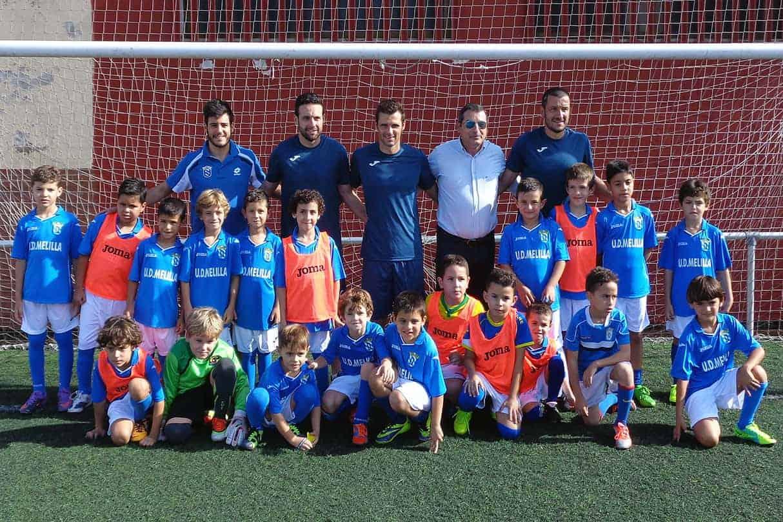 UD-Melilla-Inicio-competiciones-base-23-10-14-2