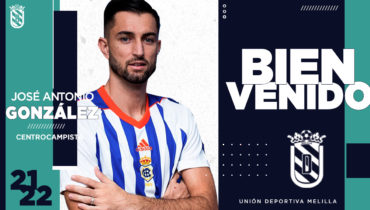 El medio ofensivo José Antonio González, nuevo fichaje de la U.D. Melilla